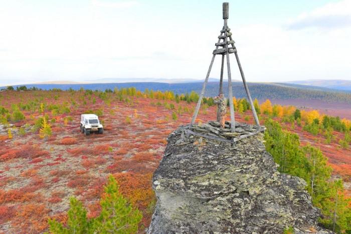 На машине в горы фото