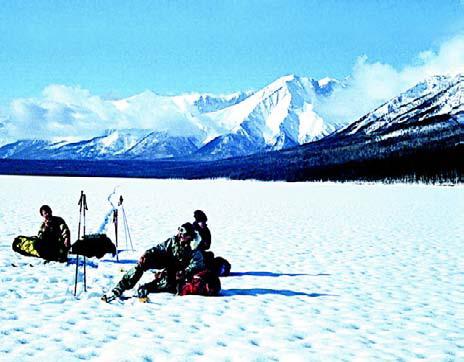Байкал. Озеро Байкал зимой