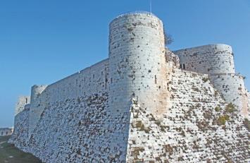 Сирия. Замок крестоносцев Крак де Шевалье (Сирия)