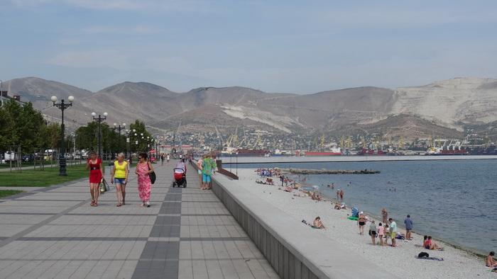 Новороссийск, Набережная, фото от СВ-Астур города Новороссийск