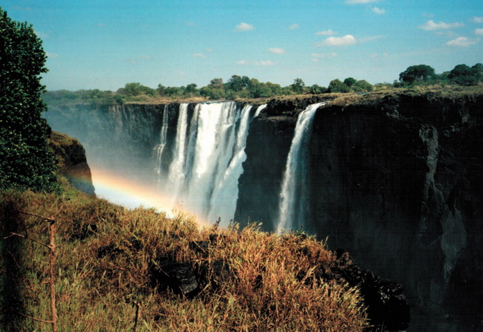 Река Замбези, Африка