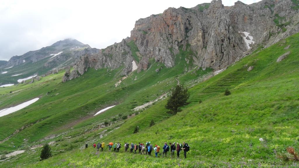 Маршрут 30 от СВ-Астур - треккинг через горы к морю Легендарная Тридцатка