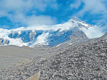 Аргентина. Гора Куэрно (5462 м).