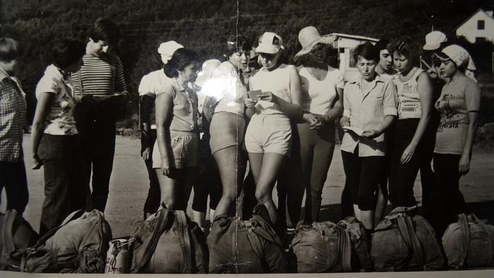 Туризм в СССР, Крым, турбаза Ангарский перевал, 80-е годы, фото из личного архива Б.Вислогузов