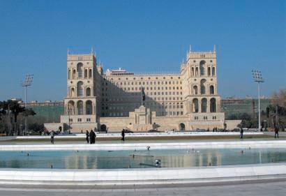 Баку, дом правительства Азербайджана