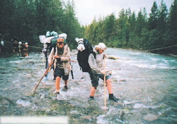 Хибины, река Гольцовая