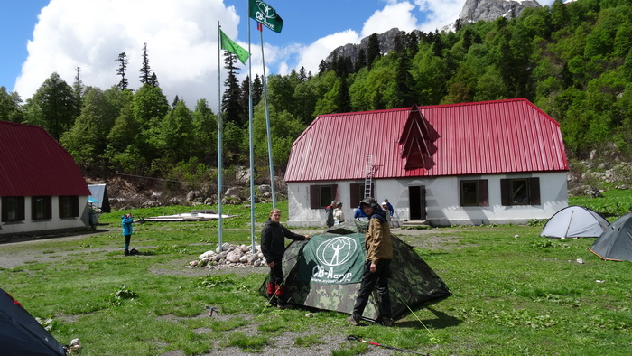 Приют Фишт, фото от СВ-Астур