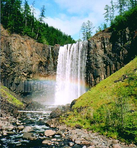 Плато Путорана, Водопад на притоке реки Гагарья-1, Таймыр