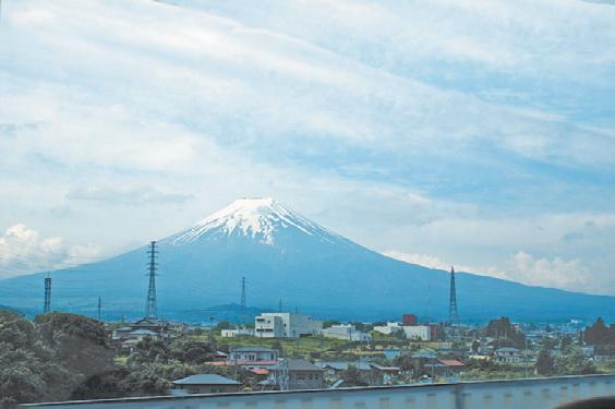 Япония. Красавица Фудзи. Вид из Кавагутико