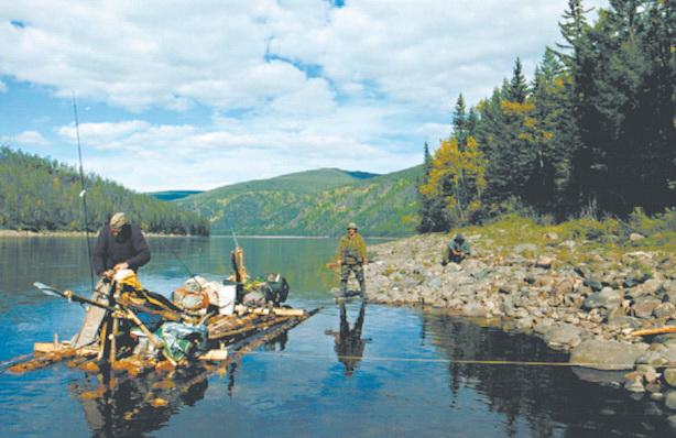 Река Учур в Якутии