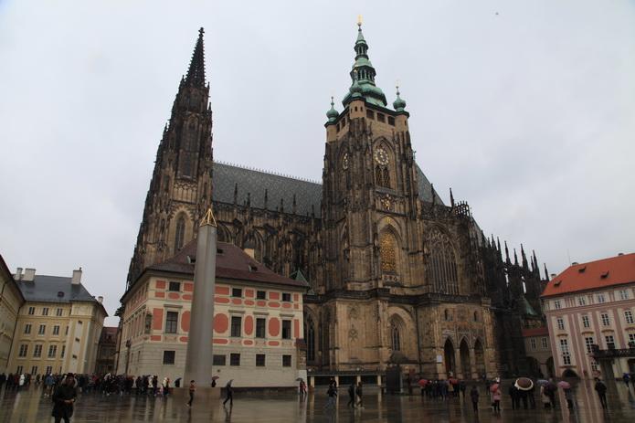 Чехия. Архитектура Чехии, фото от СВ-Астур. Собор в Чехии