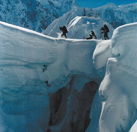 Мак-Кинли. восхождение на гору Мак-Кинли на Аляске