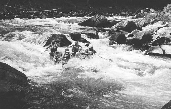Сплав по реке Енисей