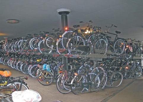 Стоянка велосипедов в Гронингене