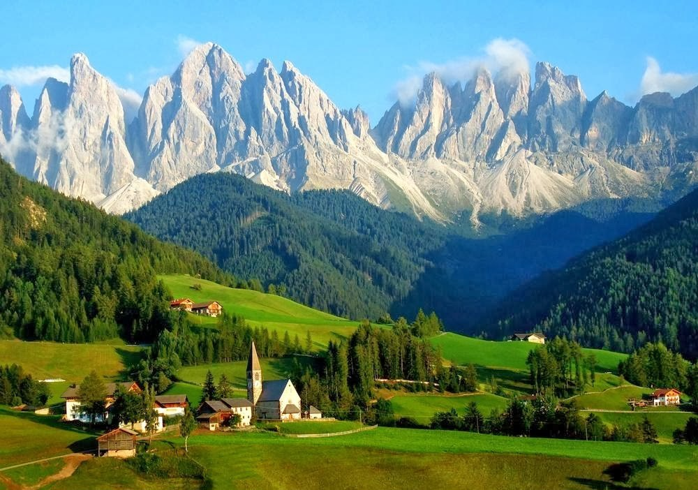 Горы Европы