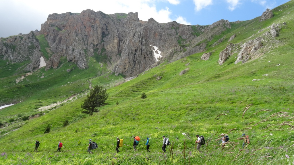 Маршрут 30 от СВ-Астур - пеший тур через горы к морю Легендарная Тридцатка