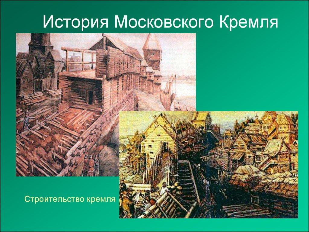 Московский кремль история с картинками