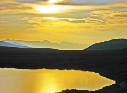 Хребет Черского. Озеро Бугачан