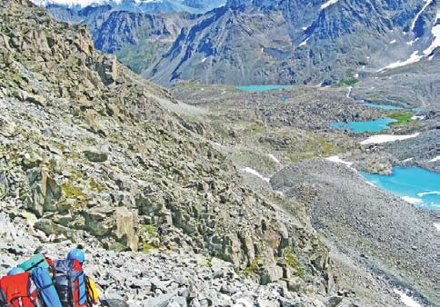 Поход на Алтае, поход по горам Алтая
