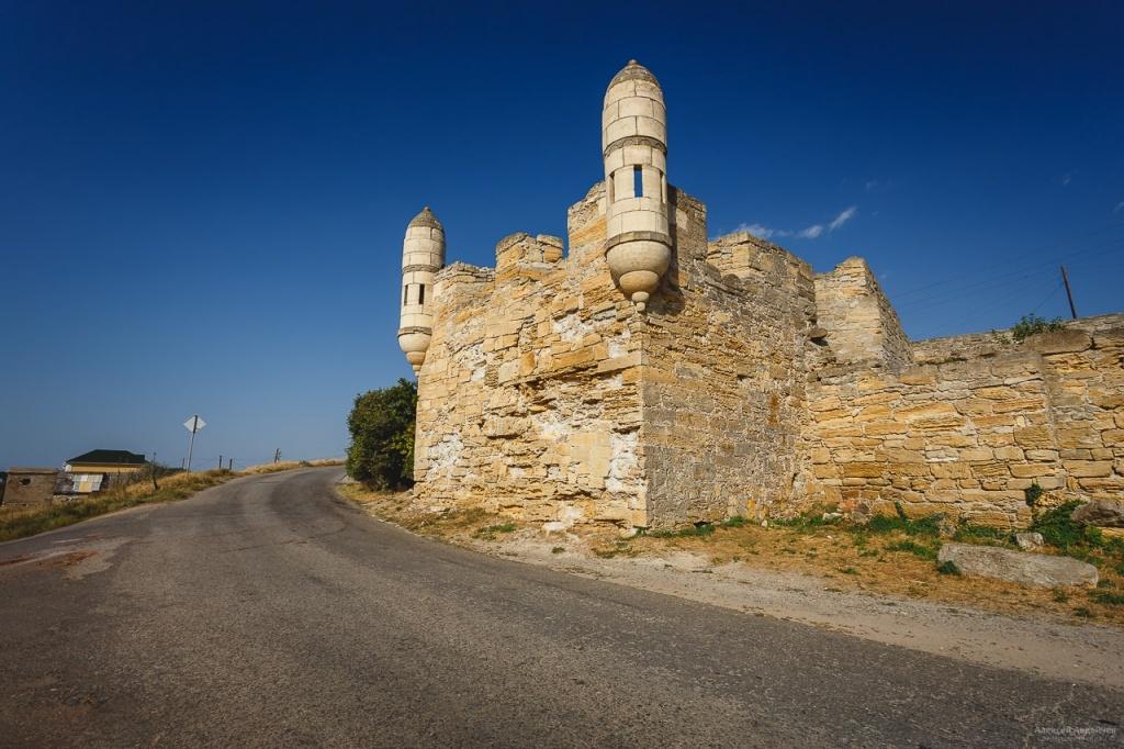 Окрестности Керчи, крепость Ени-Кале