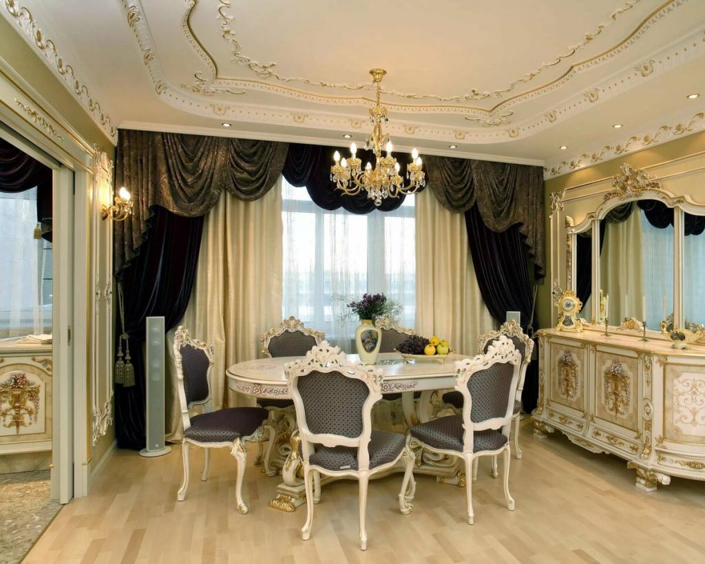 привить ремонт квартир в стиле барокко фото так