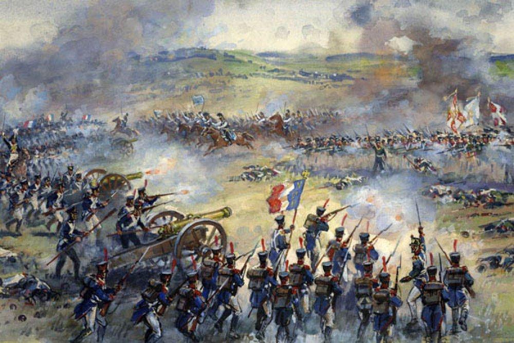 самые картинки начало бородинского сражения удивительно
