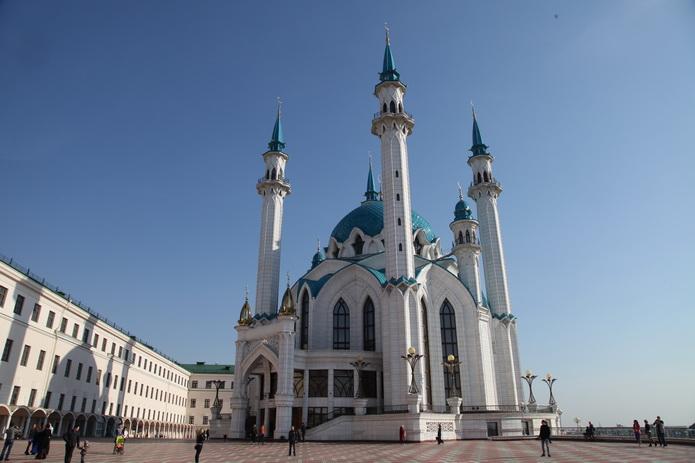 Казанский кремь, мечеть. Казань фото от СВ-Астур