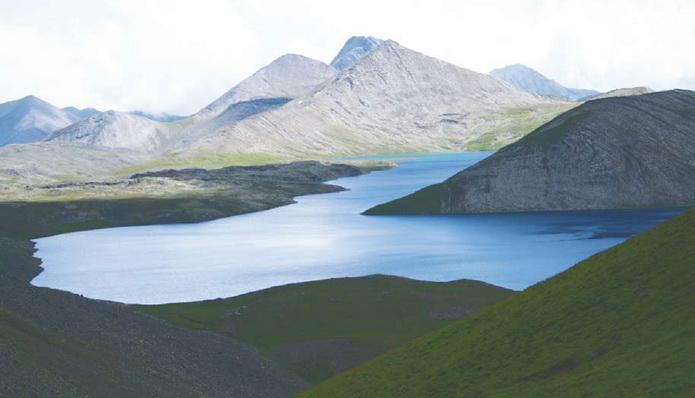 Южная Осетия - горы Южной Осетии
