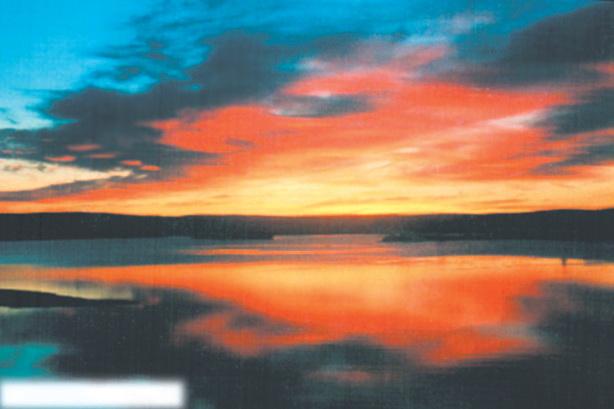 Хибины, Умбозеро на закате