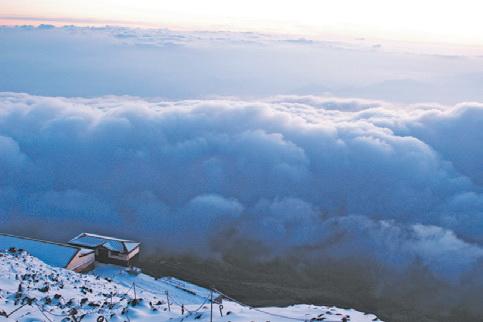 Япония. Седьмая станция (3100 м)