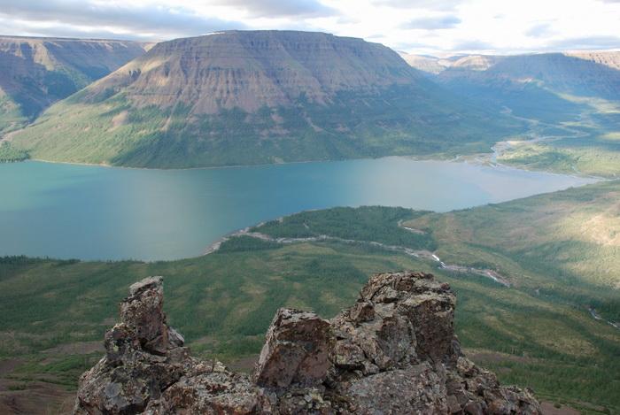 Горы плато Путорана
