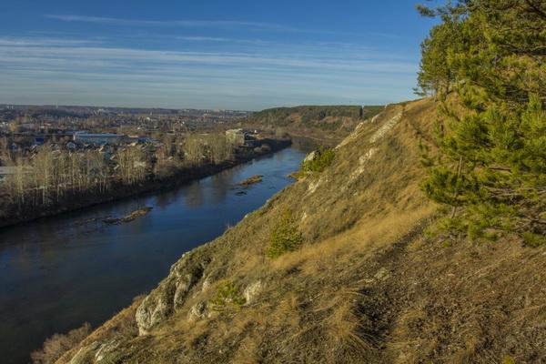 Река на Урале