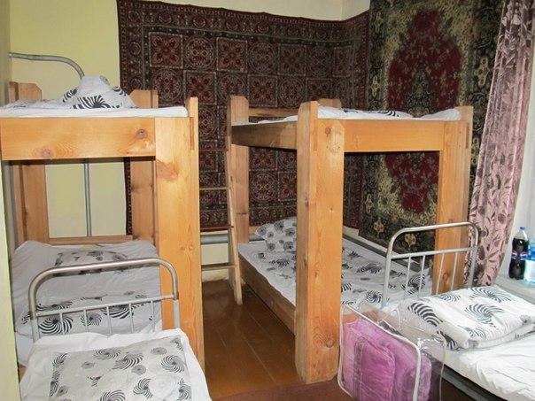 Гостиница в поселке Пороги