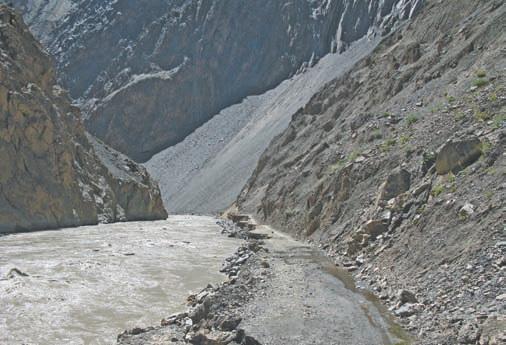 Таджикистан. Река Бартанг