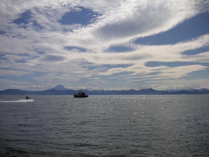 Авачинская бухта - Камчатка