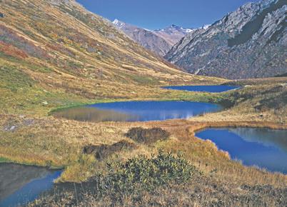 Кавказ, Семиозёрье