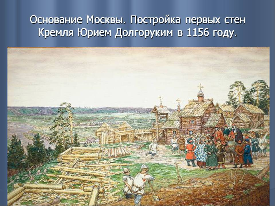 Сообщение о основании москвы доклад 8303