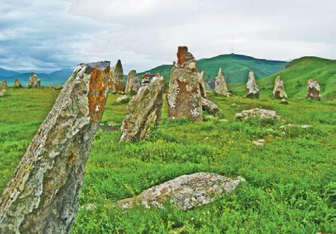 Армения. Камни Зоратц Карер. Есть предположение, что здесь была древняя обсерватория