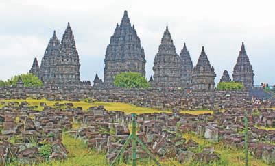 Индонезия. Храмы Прамбанан (остров Ява, Индонезия)