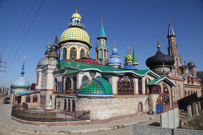 Казань - Всемирный храм. Казань фото от СВ-Астур