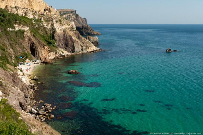 Мыс Фиолент Крым