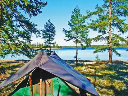 Забайкалье, Читинская область. Озеро Большое Леприндо
