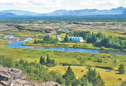 Исландия. Тингведлир – родина исландской демократии