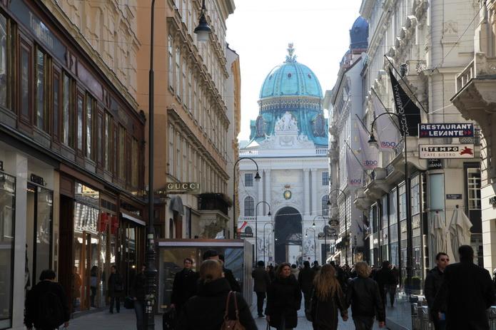 Вена, красивые виды улиц Вены - фото от СВ-Астур