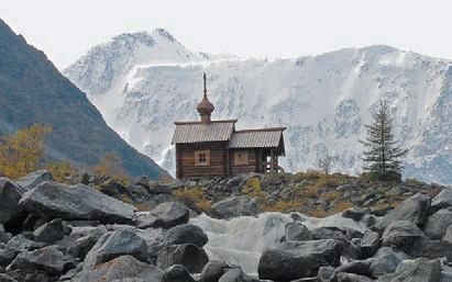 Церковь на Аккемском озере