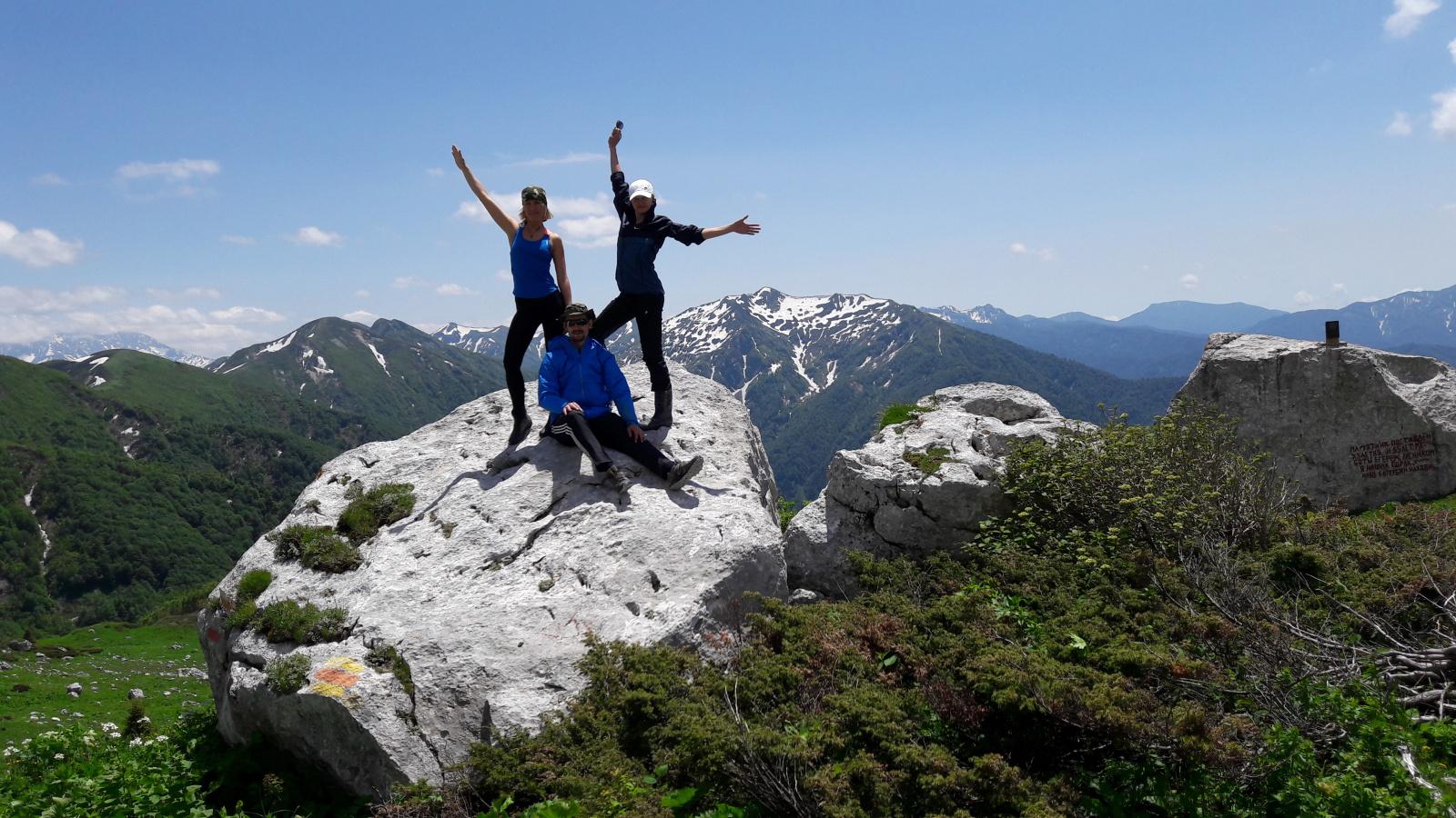 Поход легендарная Тридцатка - через горы к морю