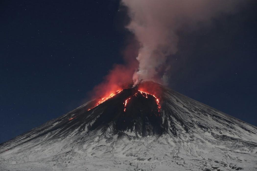 вулкан безымянный камчатка фото