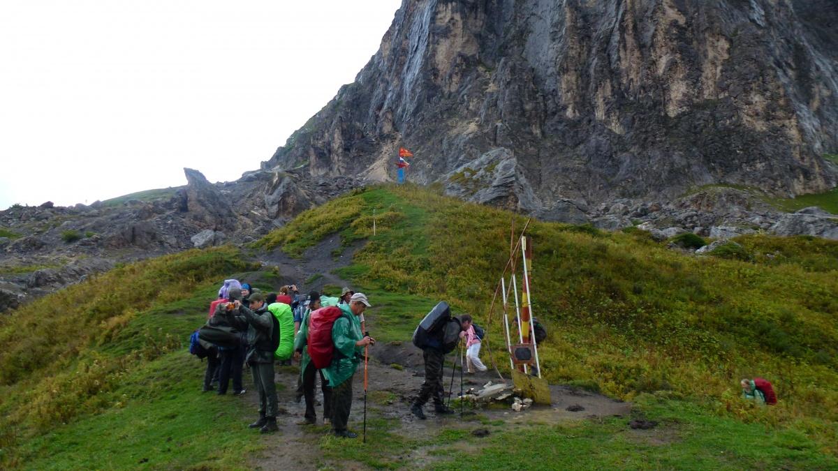 Маршрут 30 через горы к морю знаменитая 30 ка поход