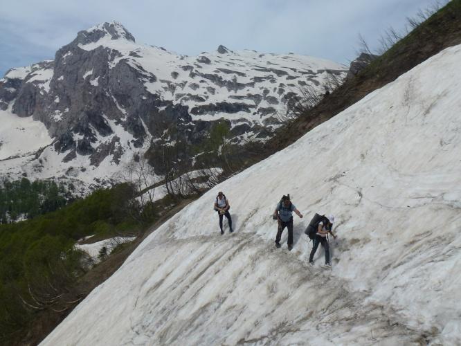Горный туризм фото от СВ-Астур. Туризм в горах на юге России - фотография