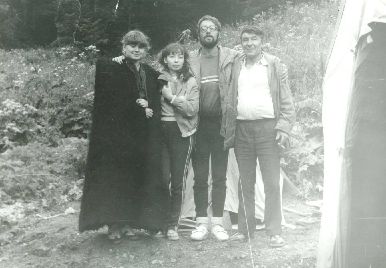 Кавказ, 1986 год, приют Армянский, маршрут 30.Легендарный тридцатый маршрут восстановлен и успешно действует